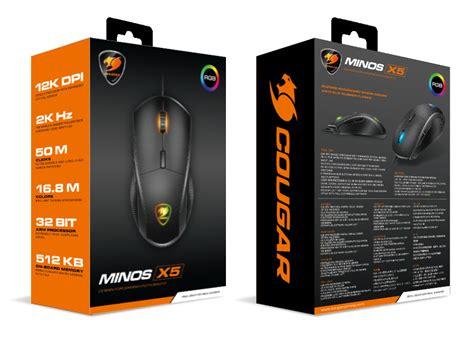 Original Gaming Mouse Minos X1 announces two new flagship fps gaming mice minos x5 and revenger s hardwareheaven