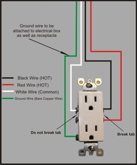 wiring diagram for range receptacle 3 wired in parallel