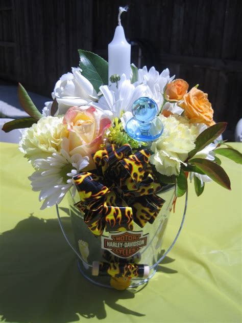 Flower Arrangements For Baby Shower by Your Happy Baker Our Baby Shower