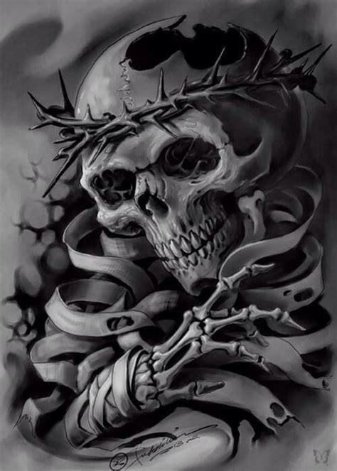 skull graveyard tattoo designs 1174 best images about skull