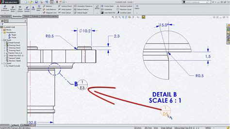 Drawing Zone by Solidworks Callout Format File Free