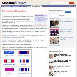 army awards and decorations army study guide awards and decorations 2017 2018