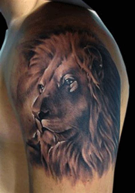 tattoo 3d leones tattoo leon