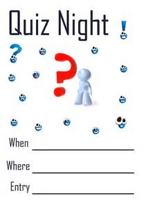 quiz night ideas