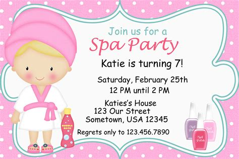 lalaloopsy birthday invitations birthday printable spa party invitations printable birthday party by
