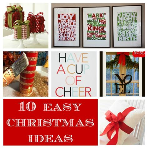 easy christmas decorating ideas home home made modern pinterest easy christmas decorating ideas
