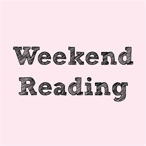 Weekend Reads Product 13 by Weekend Reading 10 11 13 The Helping