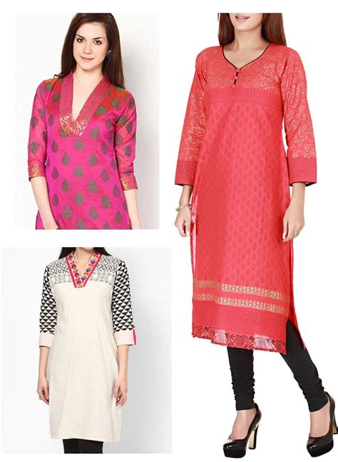 simple pattern of kurti blog shoppingcircle