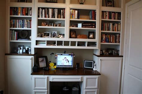 amazing bookcase with built in desk built in desk ideas