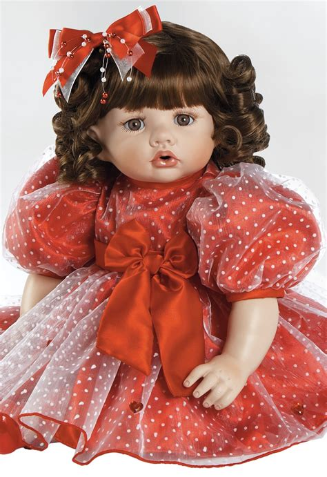porcelain doll with porcelain doll valentina s day gift