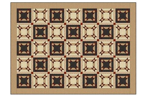 Free Patchwork Cot Quilt Patterns - the an easy patchwork bed quilt pattern