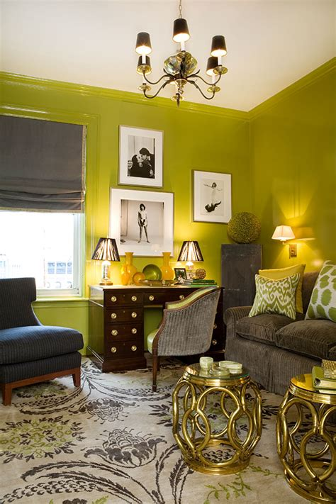 grey yellow green living room 2014 fashion color trends meet interior color trends