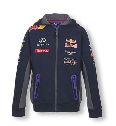 sweatshirt enfant red bull collection officielle red bull racing