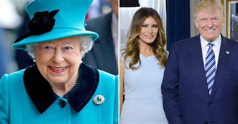 queen elizabeth donald trump queen to invite donald melania trump to windsor castle