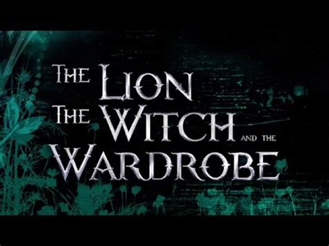the the witch and the wardrobe trailer