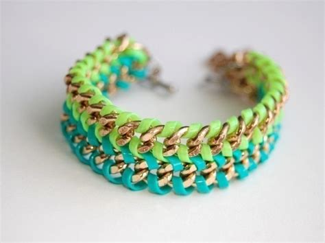 making gimp bracelets lanyard double chain bracelet 183 how to make a chain