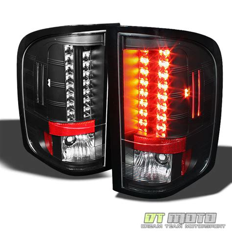 2010 chevy silverado lights blk 2010 2011 chevy silverado 1500 2500hd lumileds led