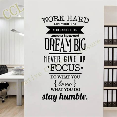 inspirational room decor aliexpress com buy free shipping motivation wall decals