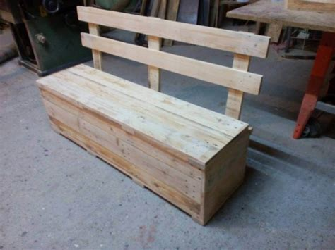 bench pallet pallet bench with storage 99 pallets