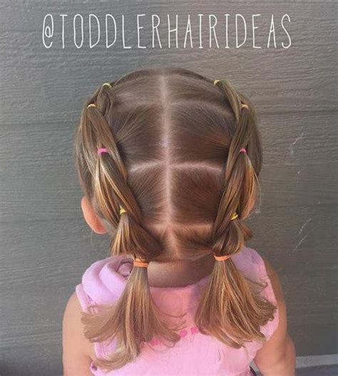 Hairstyles For Toddlers With Hair by 25 Best Ideas About Pigtail Hairstyles On