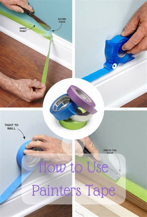 hack and paint tips for how to use painters tape the family handyman