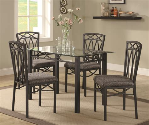 dream home interiors kennesaw blake 5 piece dining table set by coaster at dream home
