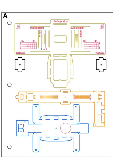 biology origami foldscope schematic itek kid biology and