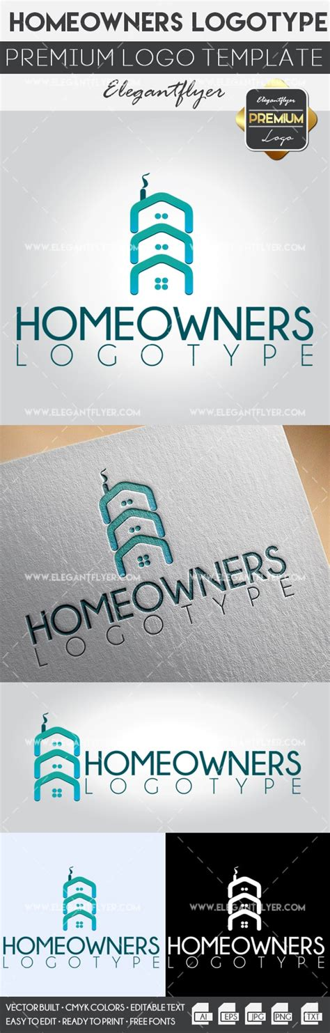 Homeowners Premium Logo Template By Elegantflyer Premium Logo Templates
