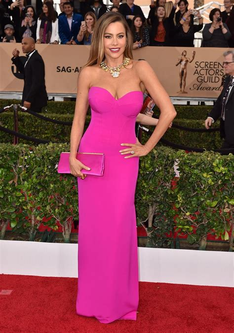 2016 screen actors guild awards red carpet a high fashion sofia vergara photos sag awards 2016 best and worst