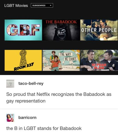 Lgbt Memes - the babadook is an lgbt symbol best funniest memes
