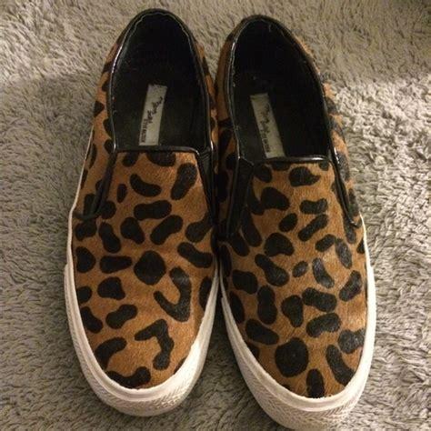 steve madden cheetah sneakers 77 steve madden shoes steve madden cheetah slip on