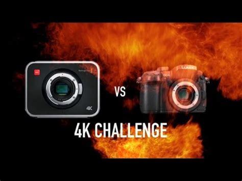 watch panasonic gh4 4k vs blackmagic cinema camera green
