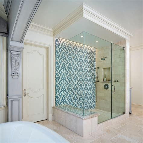 Bathroom Shower Tiles Ideas westlake village french provincial traditional