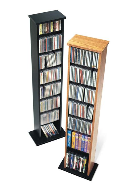 dvd storage tower prepac furniture slim multimedia storage tower