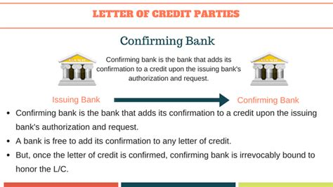 Letter Of Credit Confirming Advising Bank confirming bank letter of credit docoments ojazlink