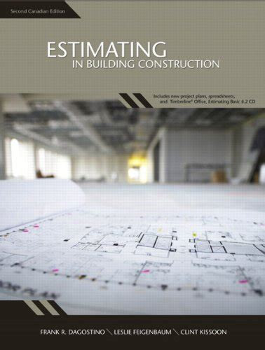 estimating in building construction 9th edition what s new in trades technology books estimating in building construction second canadian