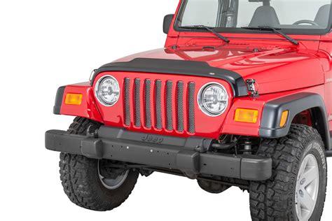 Jeep Wrangler Bug Deflector Autoventshade Auto Ventshade Aeroskin Bug Deflector For 97