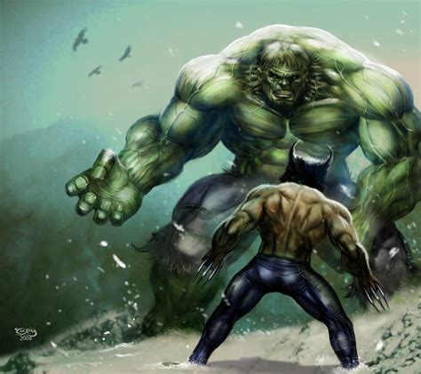 imagenes de wolverine vs superman hulk vs wolvie by tariq12 on deviantart