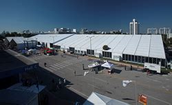 miami boat show releases arena americas supplied rental equipment to miami