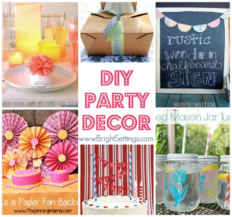 Home Button Decorations diy party decor
