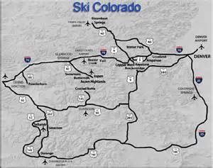 map of ski resorts colorado best deals on ski hotels lodges in colorado
