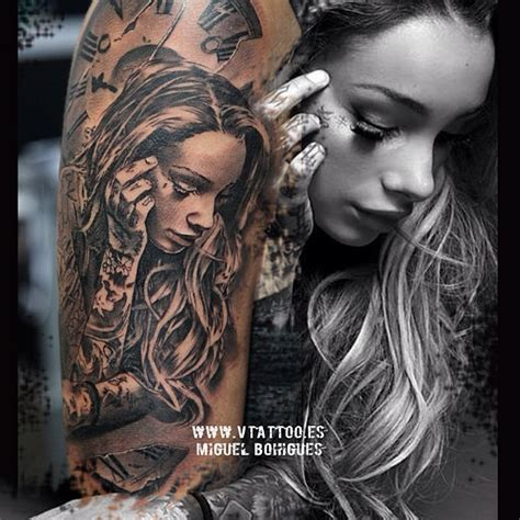 girl with tattoo miguel mp3 miguel angel bohigues tattoo tattoos artists