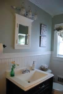 Mid century beadboard bathroom interior design feats mounting medicine
