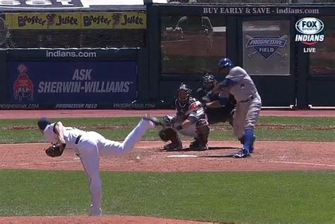 swinging strike rajai davis gives us the worst swinging strike of the year