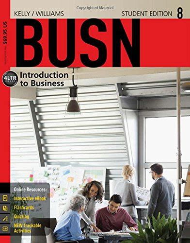 busn with busn 1 term 6 months printed access card new engaging titles from 4ltr press coursemate for williams busn 8 8th