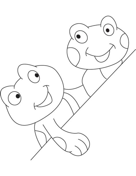 tadpole coloring page www imgkid com the image kid has it