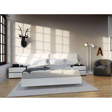 4 piece bedroom set 4 piece queen bedroom set in white and ebony 400655 set