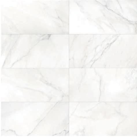300x600mm verona carrara white and black vein polished