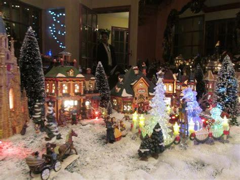 christmas village decor christmas village ideas