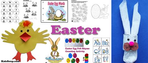 Easter Crafts, Activities, Games, and Printables.   KidsSoup